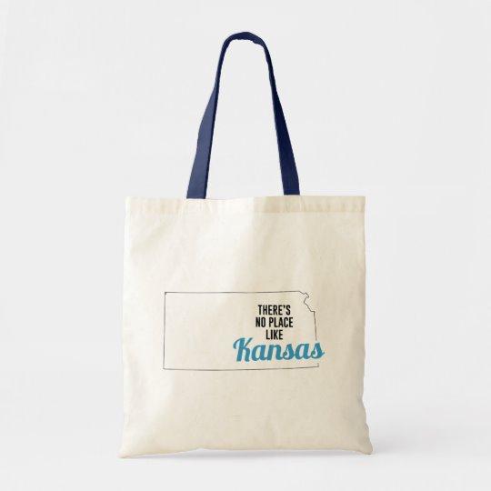 There is No Place Like Kansas Tote Bag, Kansas State Holiday Christmas, Kansas Canvas Grocery Shopping Reusable Bag, Kansas Home Base by Clotee.com There is No Place Like Home