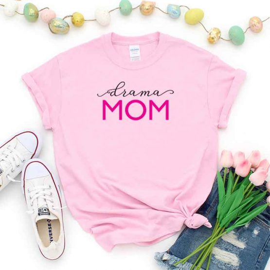 T-Shirt Drama Mom, Funny Drama Mama, Drama Mom Saying Tee, Drama Shirt Design Ideas, Plus Size Drama Outfit, Drama Parents, Drama Apparel. Printed and delivered from USA or UK.