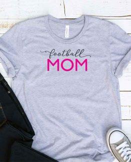 T-Shirt Football Mom, Funny Football Mama, Football Mom Saying Tee, Football Shirt Design Ideas, Plus Size Football Outfit, Football Parents, Football Apparel. Printed and delivered from USA or UK.