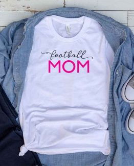 T-Shirt Football Mom, Funny Football Mama, Football Mom Saying Tee, Football Shirt Design Ideas, Plus Size Football Outfit, Football Parents, Football Apparel. Printed and delivered from USA or UK.