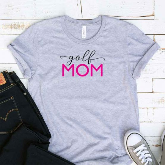 T-Shirt Golf Mom, Funny Golf Mama, Golf Mom Saying Tee, Golf Shirt Design Ideas, Plus Size Golf Outfit, Golf Parents, Golf Apparel. Printed and delivered from USA or UK.
