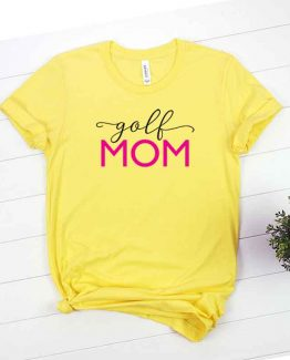 T-Shirt Golf Mom