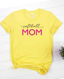 T-Shirt Softball Mom, Funny Softball Mama, Softball Mom Saying Tee, Softball Shirt Design Ideas, Plus Size Softball Outfit, Softball Parents, Softball Apparel. Printed and delivered from USA or UK.