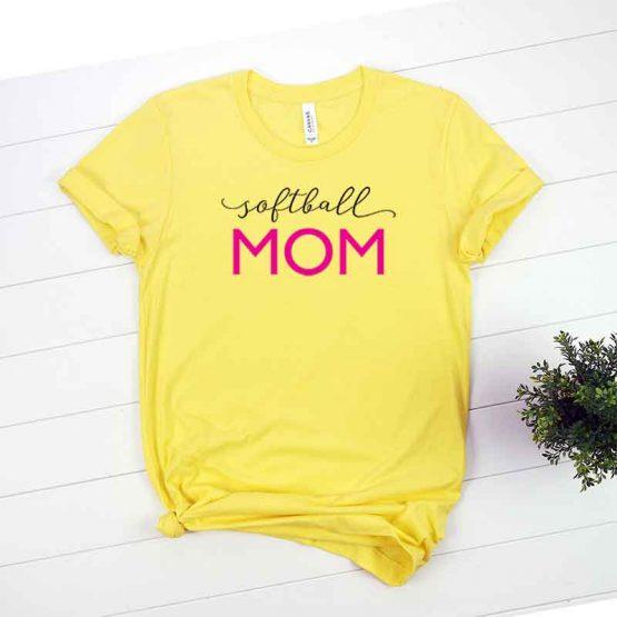 T-Shirt Softball Mom