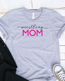T-Shirt Wrestling Mom