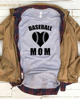T-Shirt Baseball Mom men women funny graphic quotes tumblr tee. Printed and delivered from USA or UK.