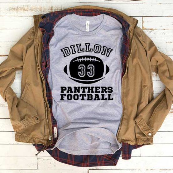 T-Shirt Dillon Panthers Football men women funny graphic quotes tumblr tee. Printed and delivered from USA or UK.