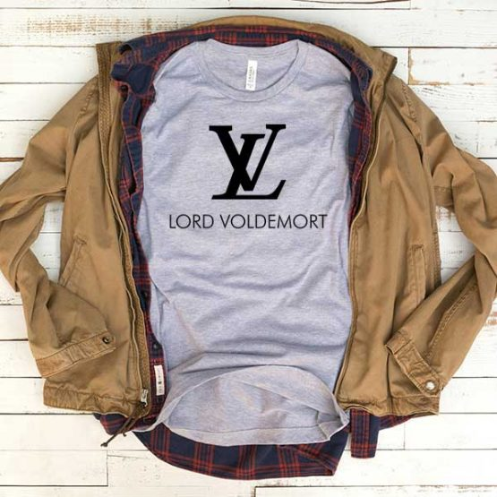 T-Shirt Lord Voldemort LV men women funny graphic quotes tumblr tee. Printed and delivered from USA or UK.