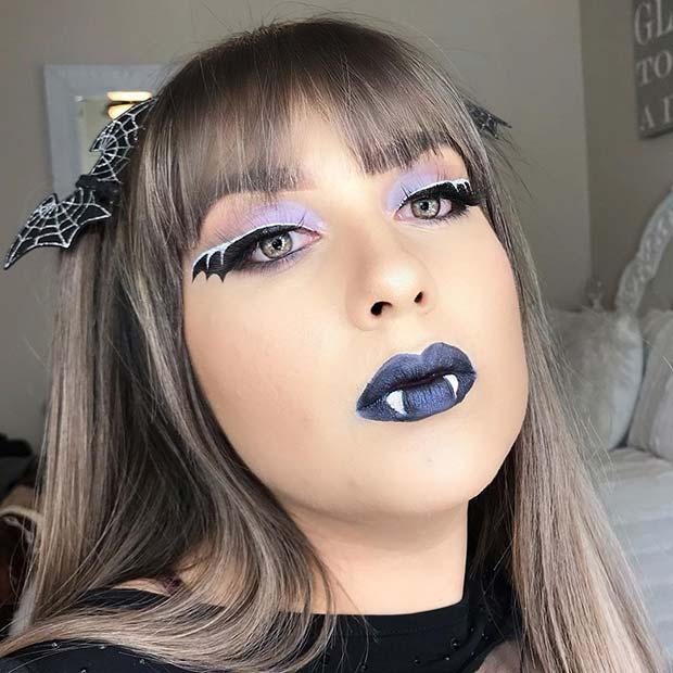 Bat Makeup Halloween Costume.13 Bat Makeup Ideas For Halloween 2020 Clotee Com