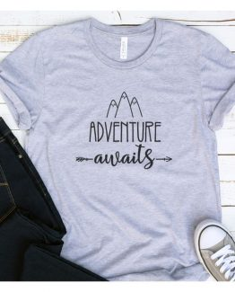 T-Shirt Vacation Adventure Awaits by Clotee.com Aesthetic Clothing