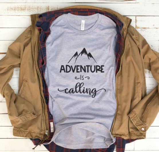 T-Shirt Vacation Adventure Is Calling by Clotee.com Aesthetic Clothing