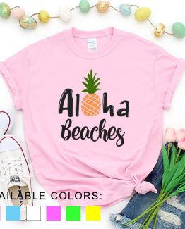 T-Shirt Vacation Aloha Beaches by Clotee.com Aesthetic Clothing
