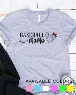 T-Shirt Baseball Mama by Clotee.com Aesthetic Clothing