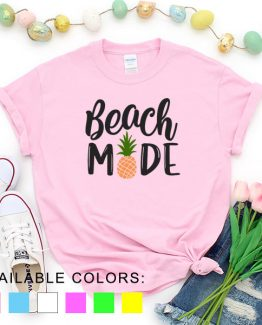T-Shirt Vacation Beach Mode by Clotee.com Aesthetic Clothing