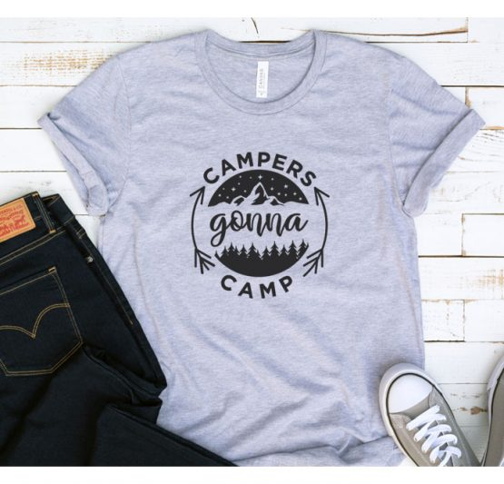 T-Shirt Vacation Campers Gonna Camp by Clotee.com Tumblr Aesthetic Clothing
