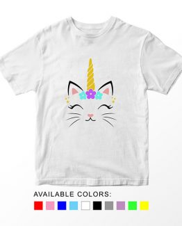 T-Shirt Caticorn Head by Clotee.com Aesthetic Clothing
