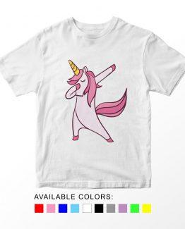T-Shirt Dabbing Unicorn by Clotee.com Aesthetic Clothing