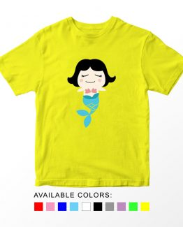 T-Shirt Kids Little Mermaid by Clotee.com Aesthetic Clothing