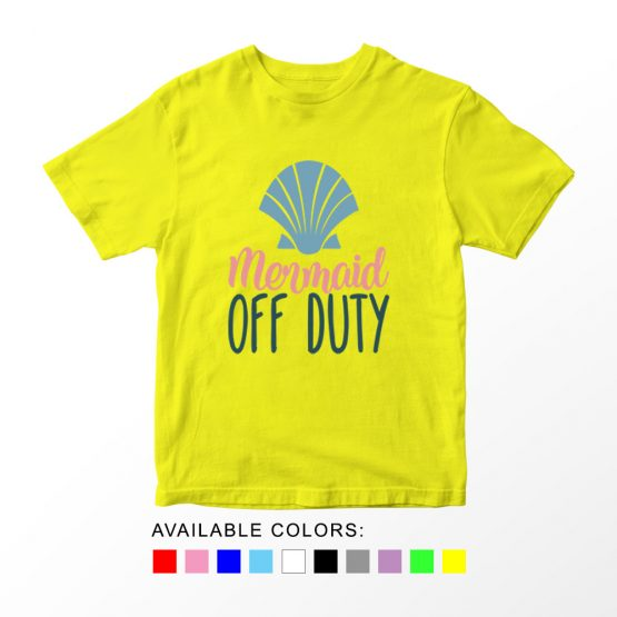 T-Shirt Kids Mermaid Off Duty by Clotee.com Aesthetic Clothing