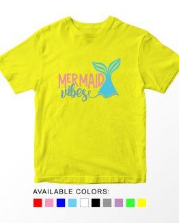 T-Shirt Kids Mermaid Vibes by Clotee.com Aesthetic Clothing
