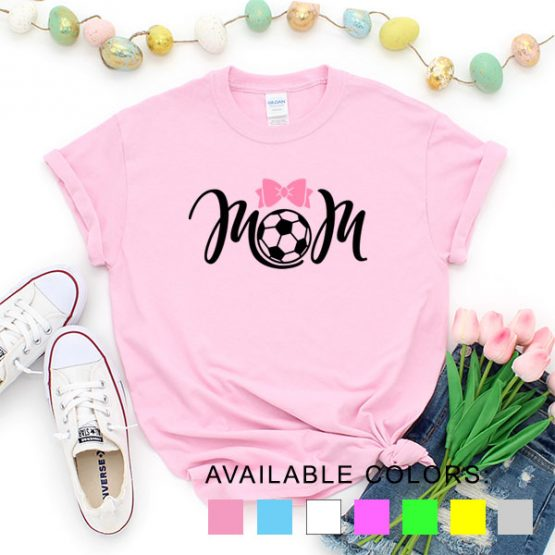 T-Shirt Soccer Mom by Clotee.com Aesthetic Clothing