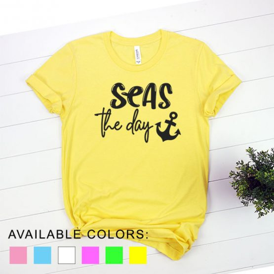 T-Shirt Vacation Seas The Day by Clotee.com Aesthetic Clothing