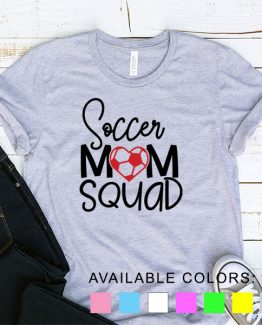 T-Shirt Soccer Mom Squad by Clotee.com Aesthetic Clothing