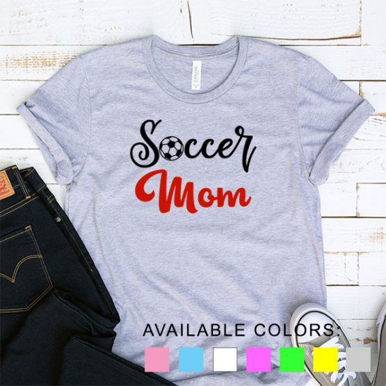 T-Shirt Soccer Mom Fans by Clotee.com Aesthetic Clothing