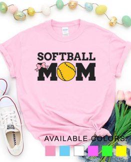 T-Shirt Softball Mom Game by Clotee.com Aesthetic Clothing