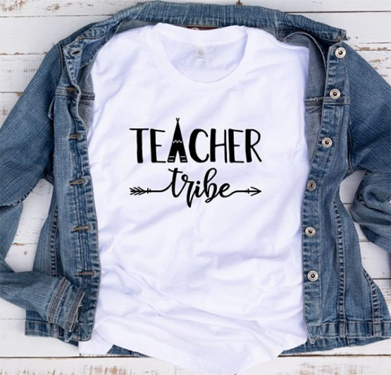 T-Shirt Teacher Tribe by Clotee.com Aesthetic Clothing