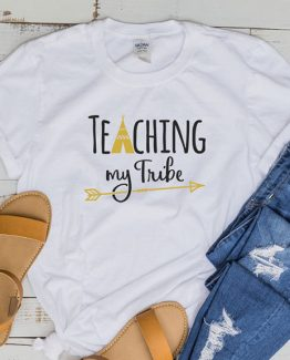 T-Shirt Teaching My Tribe by Clotee.com Aesthetic Clothing