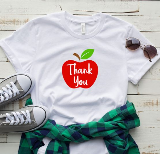 T-Shirt Thank You Apple by Clotee.com Aesthetic Clothing