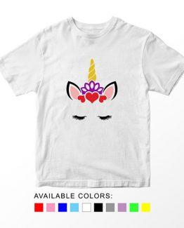 T-Shirt Unicorn Head 11 by Clotee.com Aesthetic Clothing