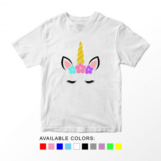 T-Shirt Unicorn Head 13 by Clotee.com Aesthetic Clothing