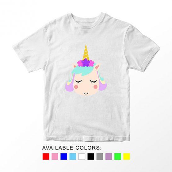 T-Shirt Unicorn Head 14 by Clotee.com Aesthetic Clothing
