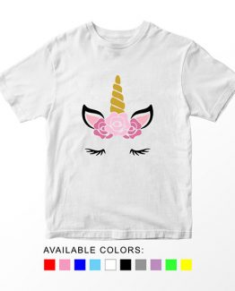 T-Shirt Unicorn Head 16 by Clotee.com Aesthetic Clothing