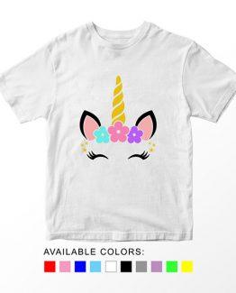 T-Shirt Unicorn Head 17 by Clotee.com Aesthetic Clothing