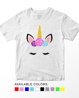 T-Shirt Unicorn Head 19 by Clotee.com Aesthetic Clothing