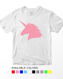 T-Shirt Unicorn Head 2 by Clotee.com Aesthetic Clothing