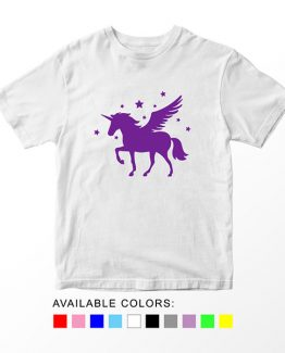 T-Shirt Unicorn Head 4 by Clotee.com Aesthetic Clothing