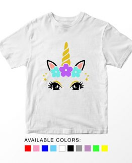 T-Shirt Unicorn Head 5 by Clotee.com Aesthetic Clothing