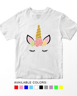 T-Shirt Unicorn Head 7 by Clotee.com Aesthetic Clothing