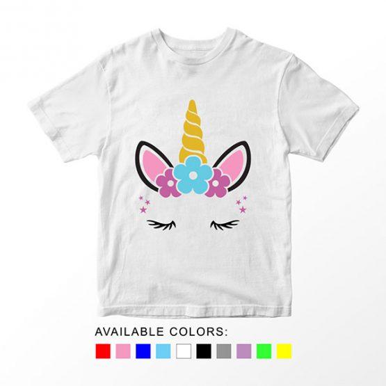 T-Shirt Unicorn Head 9 by Clotee.com Aesthetic Clothing