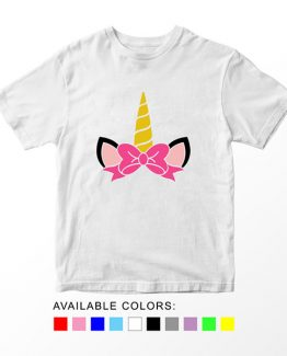 T-Shirt Unicorn Monogram by Clotee.com Aesthetic Clothing